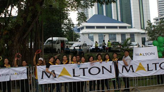 Malton Staff at The Edge Kuala Lumpur Rat Race 2014